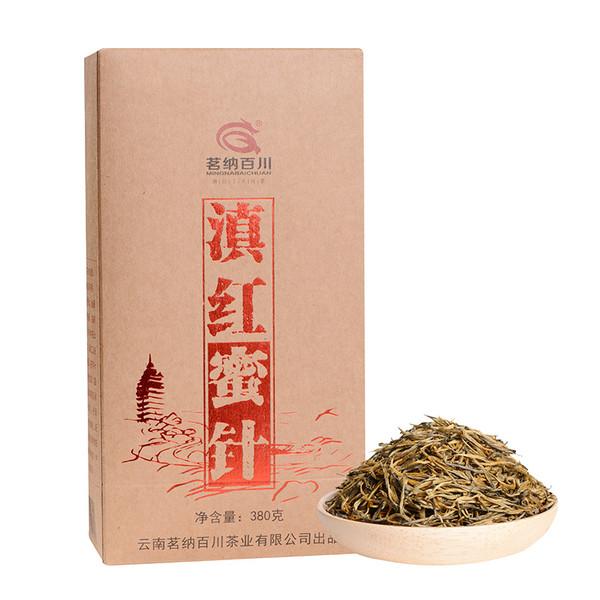 MINGNABAICHUAN Brand Mi Zhen Dian Hong Yunnan Black Tea 380g