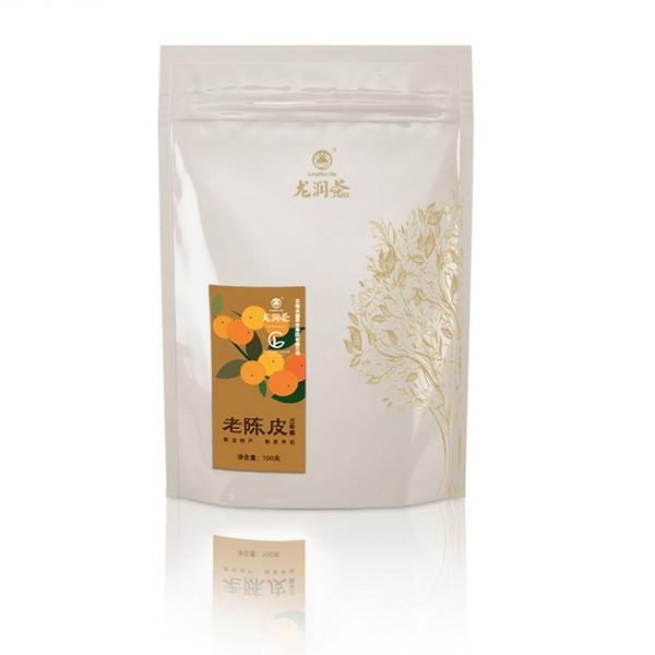 LONGRUN TEA Brand Three-year Chen Dried Chen Pi Pericarpium Citri Reticulatae Tangerine Citrus Peel Herb 100g