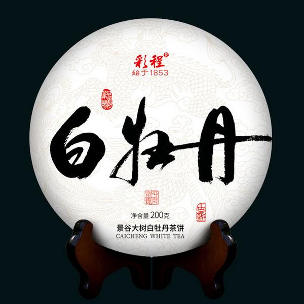 CAICHENG Brand T1 White Peony Jing Gu White Tea Cake 2020 200g