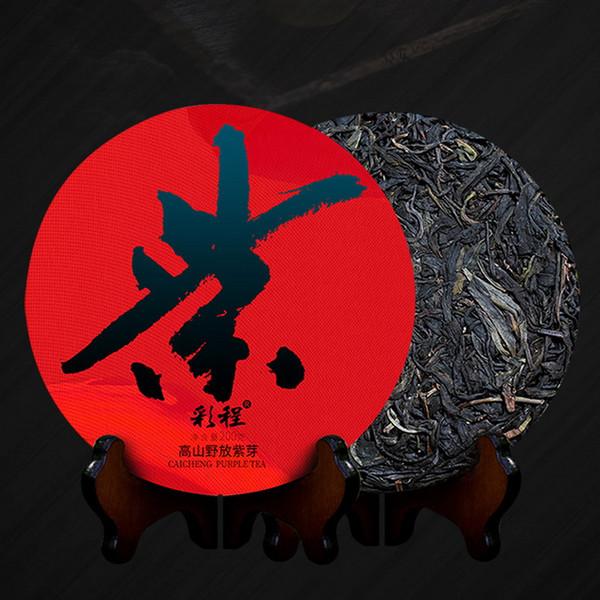 CAICHENG Brand Gao Shan Ye Fang Zi Ya Pu-erh Tea Cake 2020 200g Raw