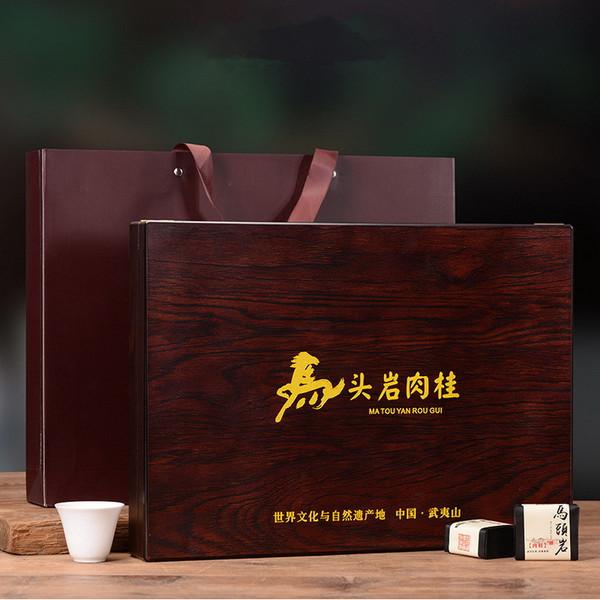 YANZHIYE Brand Jin Jie Ma Tou Yan Rou Gui Wuyi Cinnamon Oolong Tea 240g