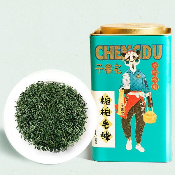 ZILEZHAI Brand Zhi Zhi Mao Feng Meng Ding Mao Feng Green Tea 100g