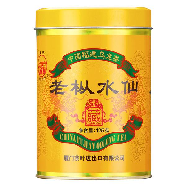Sea Dyke Brand  Red Seal Lao Cong Shui Xian Rock Yan Cha China Fujian Oolong Tea 125g
