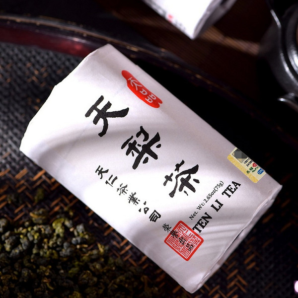 TenFu's TEA Brand Ten Li Tea Taiwan Lightly Oxidised Li Shan Cha High Mountain Oolong Tea 75g