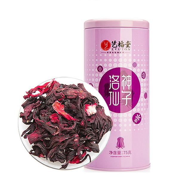 EFUTON Brand Roselle Hibiscus sabdariffa Floral & Herbal Tea 75g