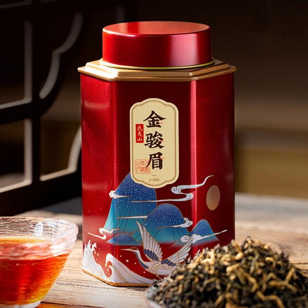Wu Hu Brand Honey Fragrance Jin Jun Mei Golden Eyebrow Wuyi Black Tea 250g