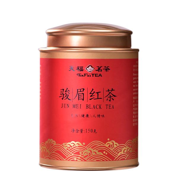 TenFu's TEA Brand M2 Jin Jun Mei Golden Eyebrow Wuyi Black Tea 150g
