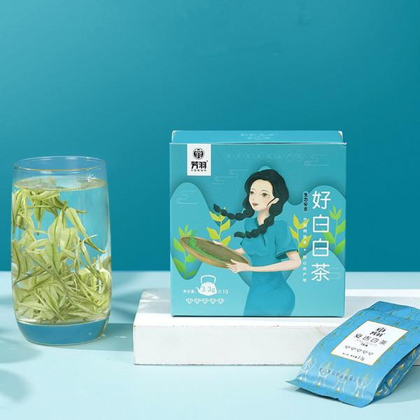 FANGYU Brand So White Ming Qian Premium Grade An Ji Bai Pian An Ji Bai Cha Green Tea 33g