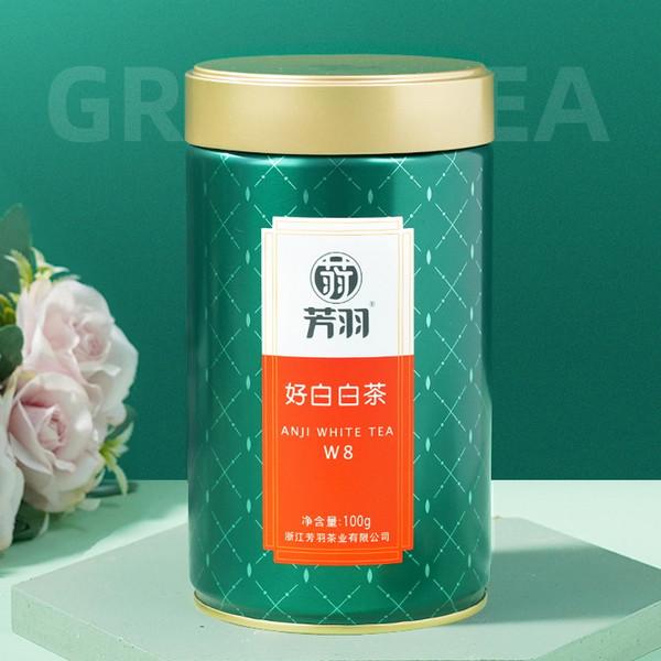 FANGYU Brand Boutique So White Ming Qian Premium Grade An Ji Bai Pian An Ji Bai Cha Green Tea 100g
