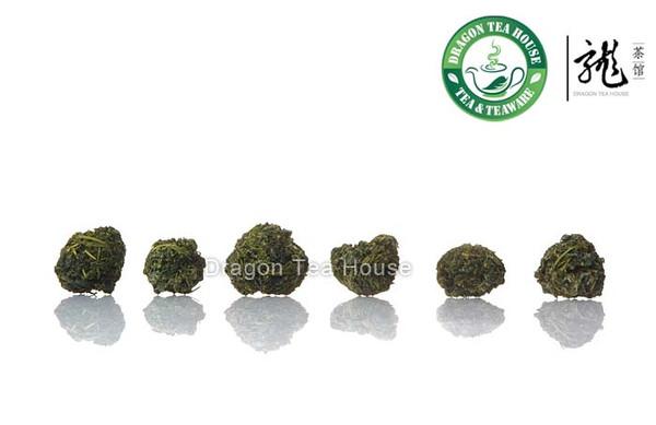 Top Grade Fresh Organic Ball-shaped Jiao Gu Lan * Sweet Gynostemma Pentaphyllum 500g 1.1 lb