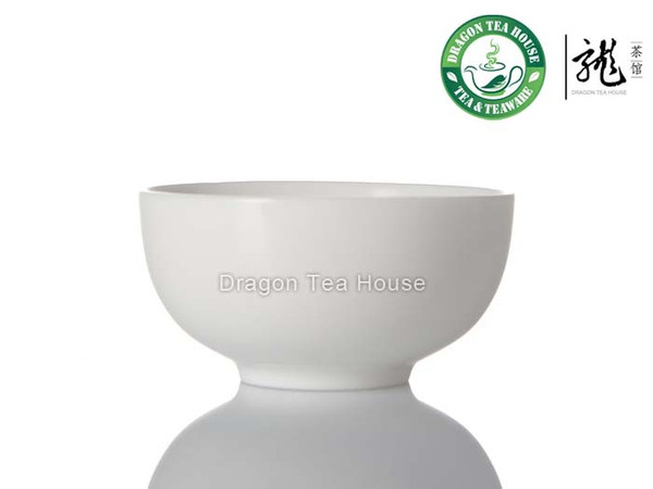 White Porcelain Chinese Gongfu Teacup 50ml  1.69 fl oz