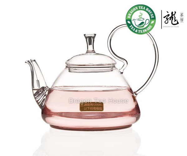 Glass Water Kettle for Induction Cooker 1000ml CK-028AB