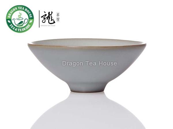 Jingasa * CFG Ru Kiln White Celadon Teacup 30ml 1.01 oz