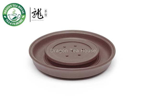 Dark Brown Yixing Zisha Clay Cha Chuan * Tea Boat