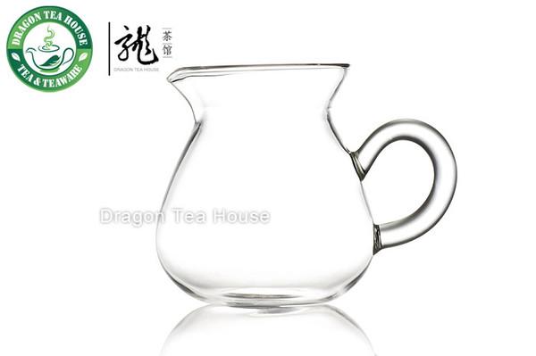 Clear Glass Gong Fu Tea Serving Pitcher 220ml B-311B