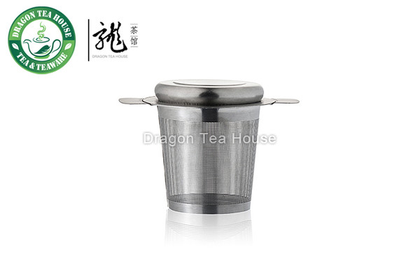 Stainless Steel Tea Infuser Filter Strainer Sieve & Tray