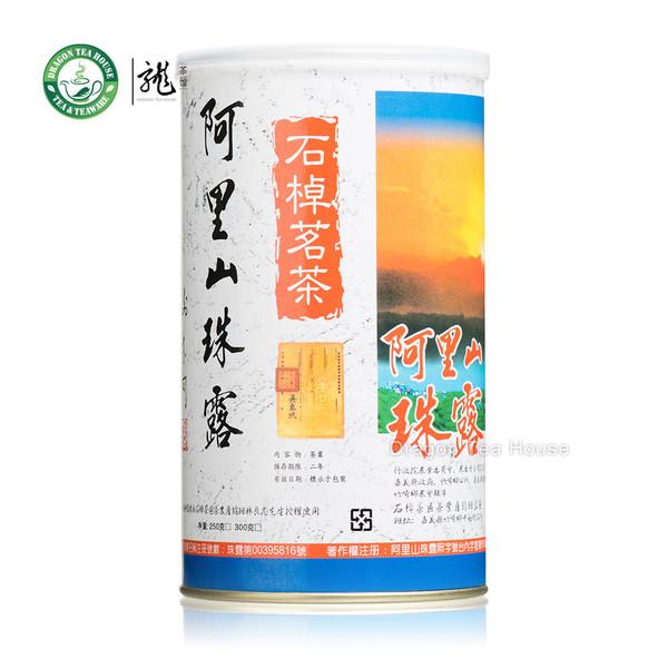 Alishan Zhu Lu Taiwan High Mountain Oolong Tea 250g 8.8 oz Complete Tin