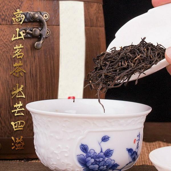 Organic Min Hong Gong Fu Black Tea Traditional Fujian High Mountain Congou 500g