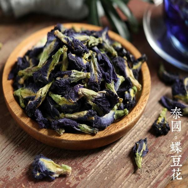 Organic Butterfly Pea Flower Dried Clitoria Ternatea Natural Blue Dye Herbal Tea 500g
