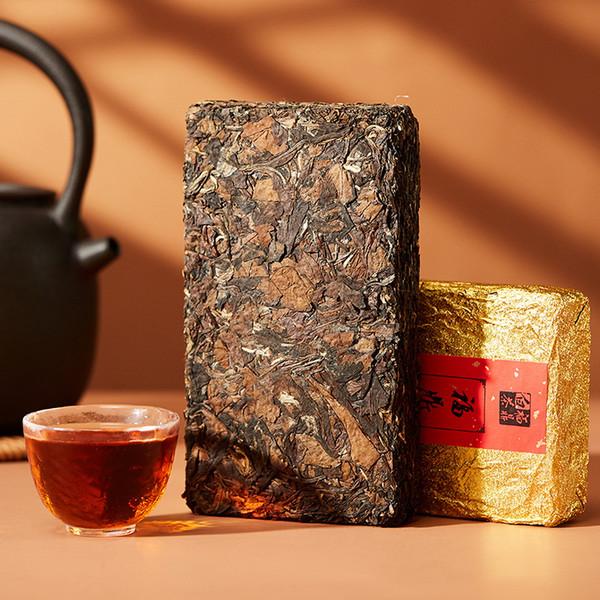 Premium Aged Big Leaves Ancient Tree Shou Mei Eyebrow White Tea Brick 2009 500g