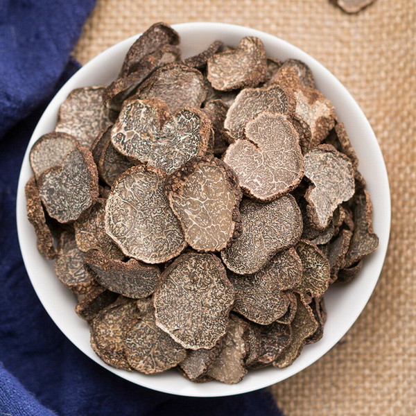 Organic Wild Dried Black Winter Truffle Slices All Natural Dehydrated Truffles 500g