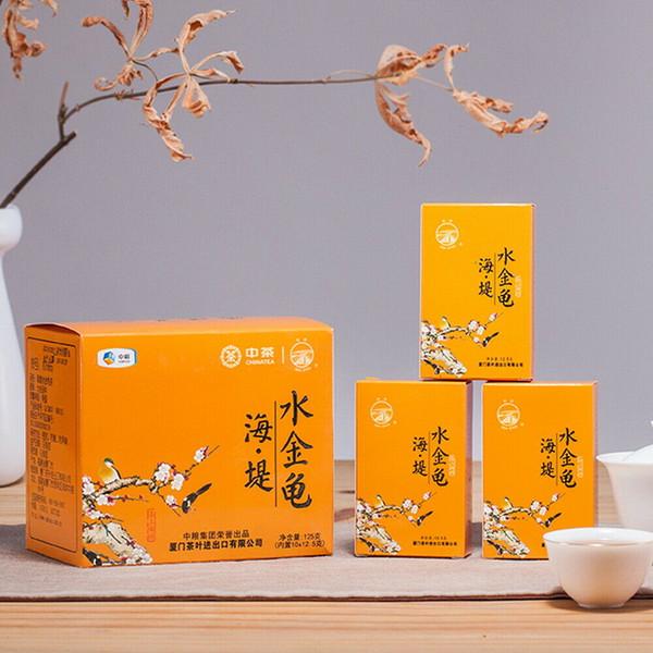 Sea Dyke Brand Shui Jin Gui Fujian Wuyi Mountain Rock Oolong Tea 125g