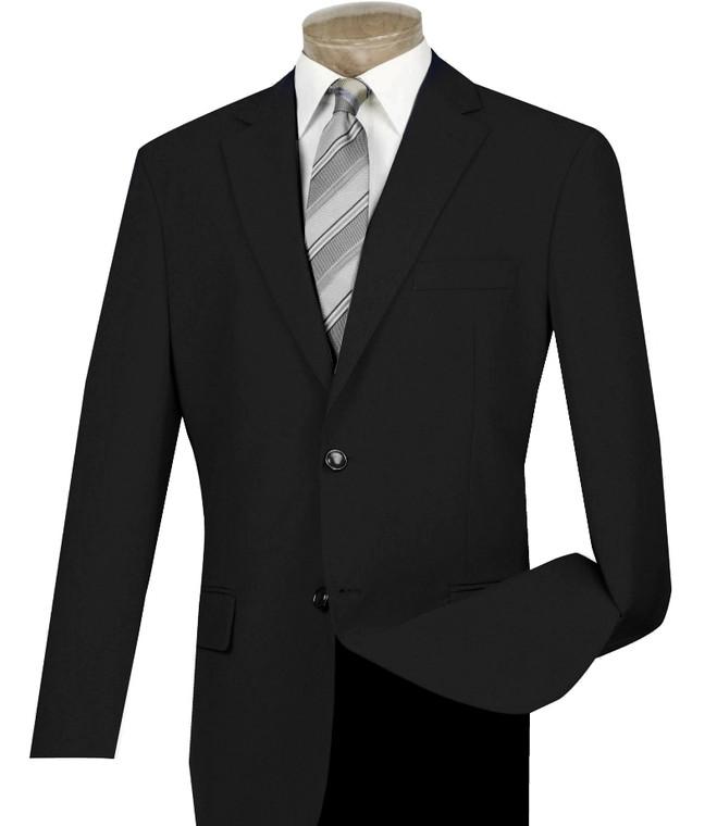 Lucci 2-Button Black Blazer