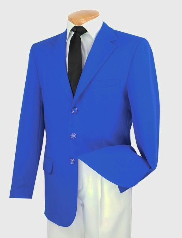Lucci 3-Button Royal Blue Budget Blazer
