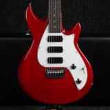 Taylor SB2 Electric Guitar - Red w/Hard Case - 2nd Hand