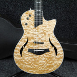 Taylor T5z Pro-QM LTD - Quilted Maple Natural w/Hard Case - 2nd Hand