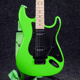 Charvel Pro Mod So Cal Style 1 HH FR - Slime Green - 2nd Hand