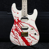 Charvel Custom Shop San Dimas - Blood Splatter w/Hard Case - 2nd Hand