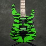 Charvel Satchel Signature Pro-Mod DK - Slime Green Bengal - 2nd Hand