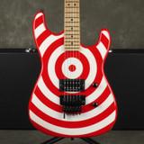 Charvel USA San Dimas Electric Guitar - Bullseye w/Hard Case - 2nd Hand