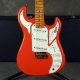 Burns Marquee Electric Guitar - Fiesta Red w/Hard Case - 2nd Hand