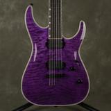 ESP LTD MH Series MH-1000NT - See Thru Purple - 2nd Hand