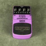 Behringer PO300 Power Overdrive FX Pedal - 2nd Hand