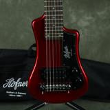 Hofner Shorty Electric Guitar - Red w/Gig Bag - 2nd Hand