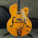 Gretsch G6120 AM Chet Atkins - Orange w/Hard Case - 2nd Hand