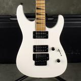 Jackson MIJ DK2M - White w/Hard Case - 2nd Hand