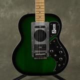 Burns Steer Electric Guitar - Green Burst - 2nd Hand