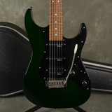 Jackson Performer PS7 Electric Guitar - Green w/Hard Case - 2nd Hand