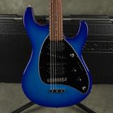 Musicman Steve Morse Signature - Blue Burst w/Hard Case - 2nd Hand
