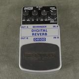Behringer DR-100 Digital Reverb FX Pedal - 2nd Hand