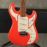 Burns Marquee Electric Guitar - Fiesta Red w/Hard Case - 2nd Hand (108785)