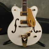 Gretsch MIK G5422T Electric Guitar - White w/Hard Case - 2nd Hand