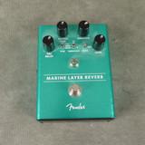 Fender Marine Layer Reverb FX Pedal - 2nd Hand
