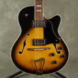 AXL Hollow Body Jazz Guitar - Sunburst - 2nd Hand