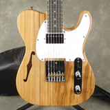 Glarry GTL Thinline Electric Guitar - Natural w/Gig Bag - 2nd Hand