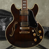 Greco SV800 Semi-Hollow Guitar - Walnut Stain w/Gig Bag - 2nd Hand